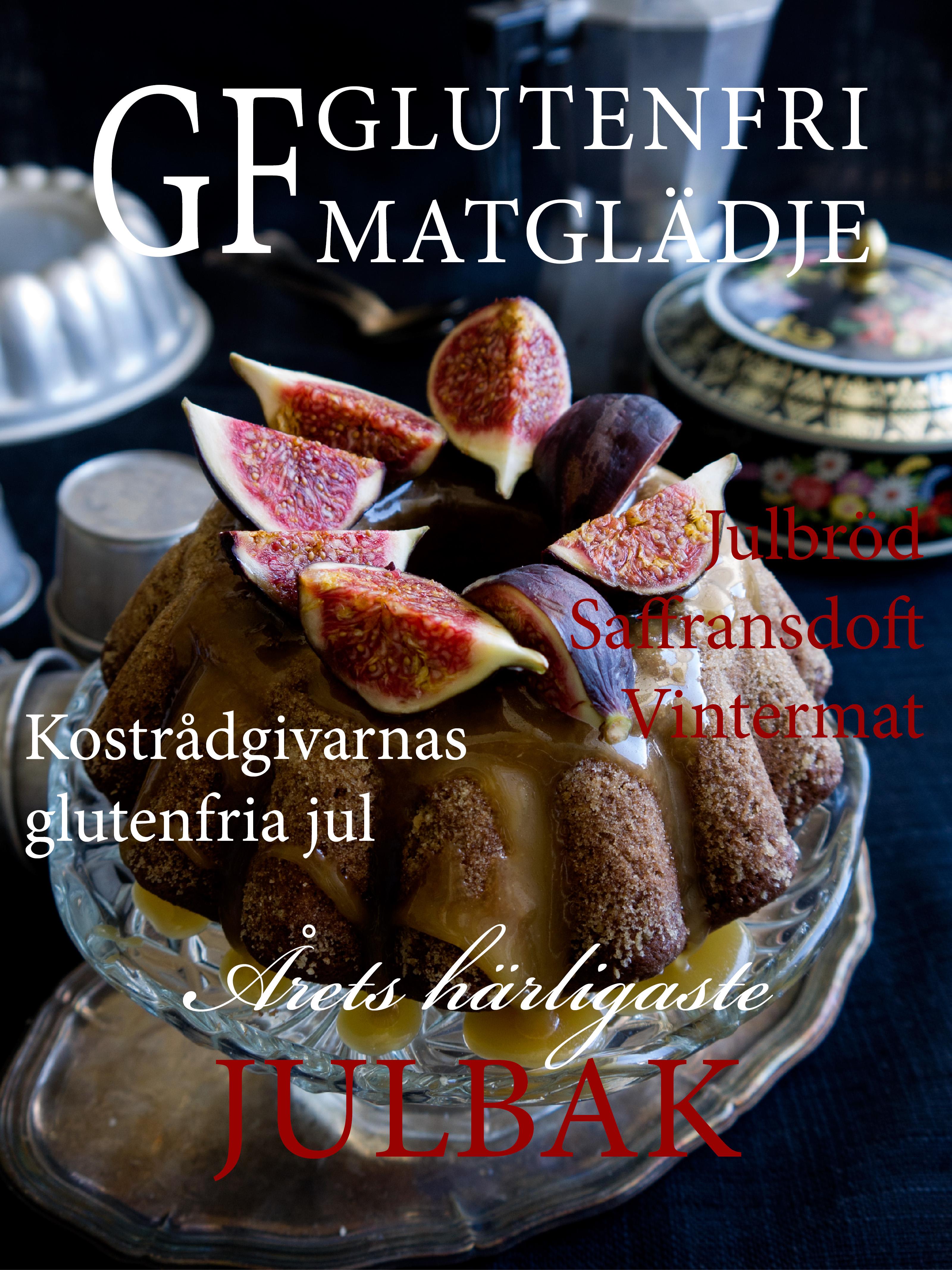 Omslaget till GF Glutenfri Matglädje nr 4, 2015