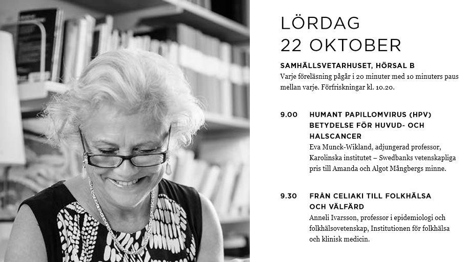 Klipp från programmet med Anneli Ivarsson på bild.