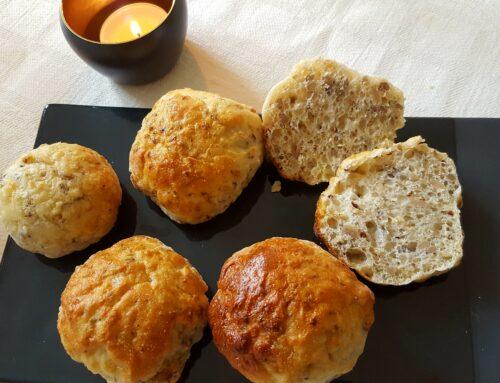 Glutenfria små brödbullar med tuggmotstånd – Perfekt på buffébordet