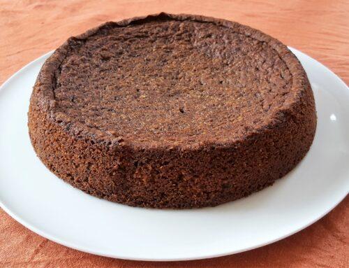 Annorlunda kladdkaka med choklad och mandel – Glutenfri