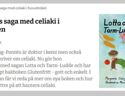 Intervju på Barnsidan om Lotta och Tarm-Ludde